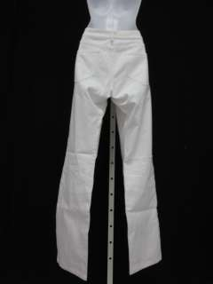 IT JEANS White Cotton Twiggy Boot Cut Jeans Pants Sz 29