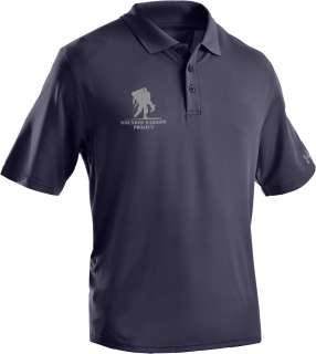 UNDER ARMOUR HEATGEAR WOUNDED WARRIOR PROJECT POLO BLK