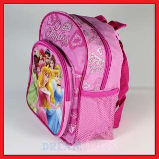 10 Disney Princess Crown Backpack Girls Bag Toddler