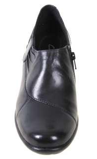 Clarks Womens Shoes 83592 Wyld Jazz Black Leather
