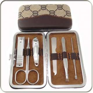 in 1Stainless steel Nail Clippers Cutter Manicure Pedicure set Kit