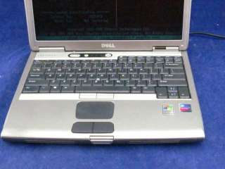 Latitude D600 Pentium M 1.50GHz 512MB Laptop with CD RW/DVD Powers On