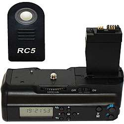 Polaroid Wireless LCD Display Battery Grip for Canon Eos 7D Digital