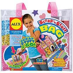Alex Toys Scrap n Stuff Bag Scrapbooking Kit