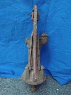 Vintage Antique Cast Iron Well Water Pump Garden Decor Yard Art