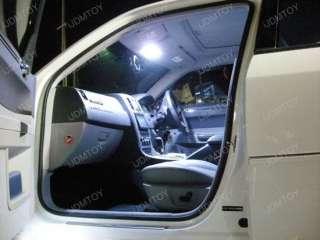 White 9 SMD LED Interior Dome Panel Lights DE3175 2825