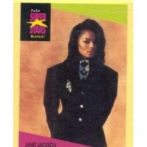 1991 Pro Set Super Stars #58 Janet Jackson: Everything Else