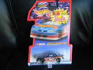 Hot Wheels #44 Kyle Petty Barbie KB Toys Diecast car 1998