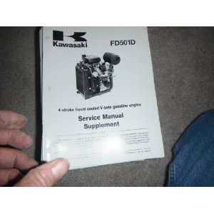 Engine Service Manual Supplement kawasaki heavy industries Books