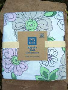 BARN MAGNOLIA DUVET COVER ~ FULL / QUEEN ~ BEDDING ~ PB TEEN