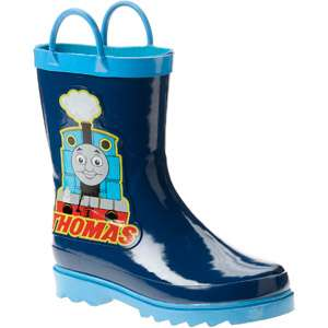 the Train   Toddler Boys Thomas the Tank Train Rain Boots: Shoes