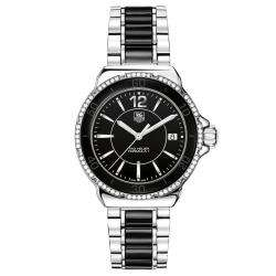 TAG Heuer Womens Formula 1 Black Ceramic Diamond Watch