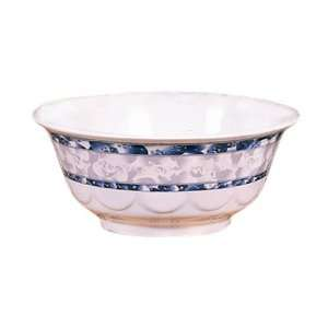 Thunder Group 5275DL 32 oz Blue Dragon Scalloped Bowl
