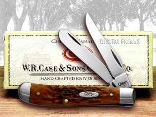 CASE XX Chestnut Mini Trapper CV Pocket Knife Knives