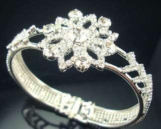 Wholesale 12Pcs Mixed Style Crystal Rhinestone Bracelet