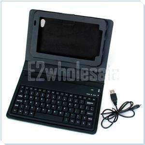 Bluetooth Keyboard +Leather Case for Samsung Galaxy Tab P1010 SMT