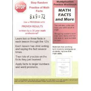 Multiplication Practice Workbook (Dixies Basic Math Facts
