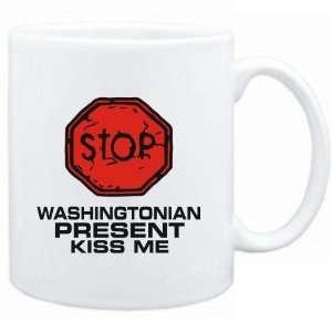 Mug White  STOP  Washingtonian START KISSING  Usa