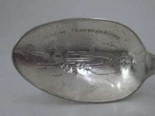 WM ROGERS 1939 SILVER PLATED WORLDS FAIR SPOONS
