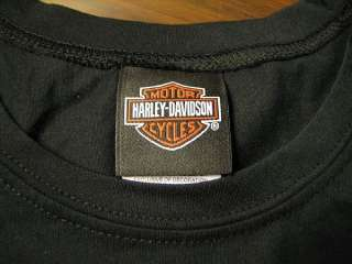 Womens HARLEY DAVIDSON tattoo sleeve shirt * NEW