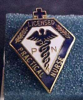 Licensed Practical Nurse LPN Medical Emblem Pin 5019