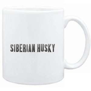 Mug White  Siberian Husky  Dogs