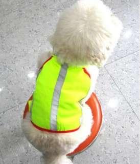 Pet Dog Vests Safe Reflective Jackets Clothing Clothes