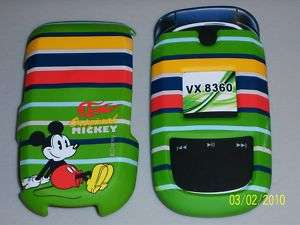 LG VX8360 Phone Cover Disney Mickey Mouse Green 380