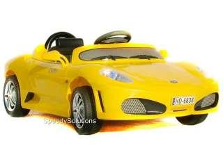 Kids F430 Battery Power Ride On RC Control Wheels Car