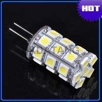 G4 3.6W 3200K 300 Lumen 27 5050 SMD LED Warm White Light Bulb DC 12V