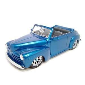 1948 FORD CUSTOM BLUE 118 SCALE DIECAST MODEL
