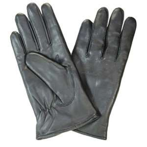 100% Leather Men & Ladies Gloves Black #38 Office