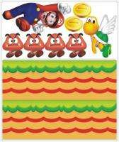 TWO/2 Super Mario Bros Wall Stickers/Decal Removable