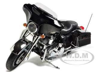diecast model of 2011 harley davidson flhx street glide vivid black