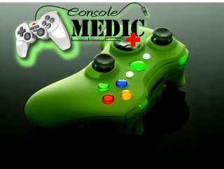 XCM XBOX 360 WIRELESS CONTROLLER SHELL *SMOOTH GREEN*