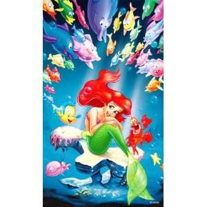 Disney Little Mermaid Lithographs SET of 3: Toys & Games