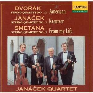 String Quartets Janacek Quartet Music