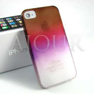 Rainbow Colourful APPLE iPhone 4 Hard Case Cover Skin Fancy Design mbs