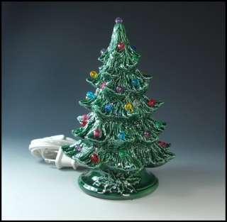 Green Ceramic Christmas Tree 7