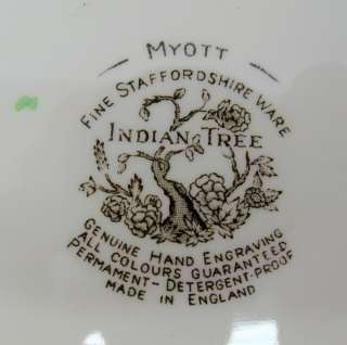 Oval Myott Staffordshire Indian Tree Serving Platter