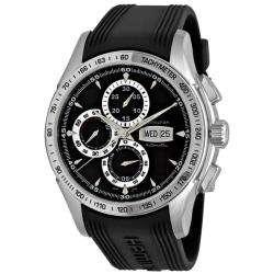 Hamilton Mens Lord Hamilton Rubber Strap Chronograph Watch