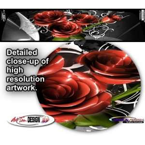 Roses Rear Window Graphic 1 for Chevrolet Avalanche