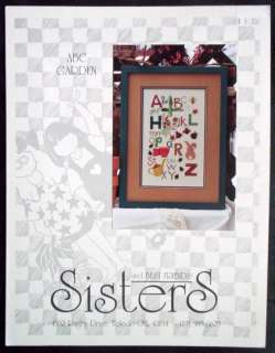 Sisters & Best Friends Cross Stitch Chart   ABC Garden
