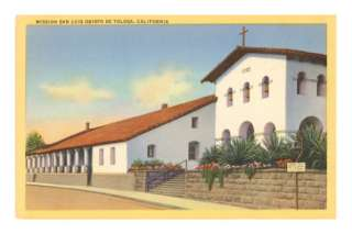 San Luis Obispo Mission, California Posters at AllPosters