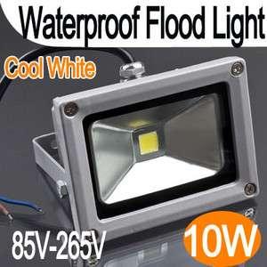 Waterproof 10W LED Flood Light Cool White Light Lamp AC 85 264V