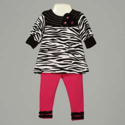 Baby Togs Infant Girls Tunic and Legging Set