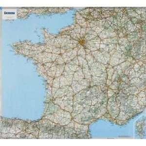 Michelin France Carte plastifiee : 1/1 000 000 : Laminated
