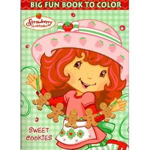 Strawberry Shortcake Big Fun Book to Color ~ Sweet Cookies
