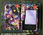 NOKIA SURGE 6790 AT&T rubberized cover case butterfly m