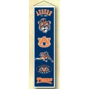 Auburn University Tigers AU NCAA Wool 8 X 32 Heritage